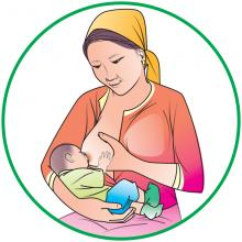 Breastfeeding - Breastfeeding during the day - 01 - Kyrgyz Republic