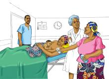 Breastfeeding - No water during breastfeeding 0-6mo - 02 - Burkina Faso