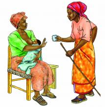 Breastfeeding - No water 0-6 mo - 01 - Niger