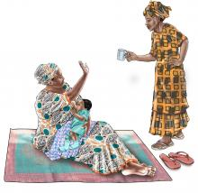 Breastfeeding - No water during breastfeeding 0-6 mo - 02 - Senegal