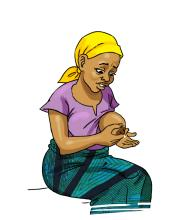 Breastfeeding - Mother with low breastmilk production 0-6mo - 01 - Burkina Faso