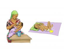 Breastfeeding - Giving baby water will increase risk of diarrhea 0-6mo - 00 - Burkina Faso
