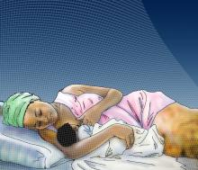 Breastfeeding - Breastfeeding positions - Side Lying 6-9 mo - 02 - Non-country specific