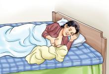 Breastfeeding - Breastfeeding positions - Side Lying - 02B - Nepal