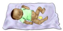 Sick Baby Health Care - Signs of sick baby- diarrhea 0-6 mo - 02 - Non-country specific
