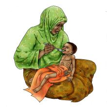 Sick Baby Nutrition - Feeding dehydrated baby 6-24 mo - 08 - Niger