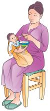 Sick Child Health - Complementary feeding for a sick child 6-24mo - 02 - Kyrgyz Republic