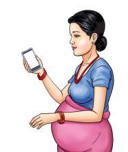 Maternal Health - Maternal MUAC - Receiving information via mobile - 05 - Nepal