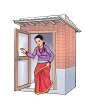 Hygiene - Wash your hands after using the latrine - 06 - Nepal