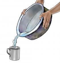 Hygiene - Boiling water - 06 - Sierra Leone