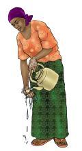 Hygiene - Handwashing with warm water - 00A - Nigeria