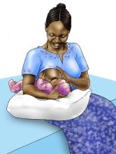 Breastfeeding - Breastfeeding positions 0-12 mo - 02B - Non-country specific