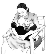 Breastfeeding - Breastfeeding positions 6-9 mo - 04A - Non-country specific