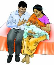 Father Support - Father support for breastfeeding 0-6 mo - 00 - India