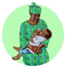 Breastfeeding - Exclusive breastfeeding 6-9 mo - 00C - Benin