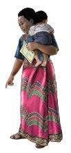 Child Health Care - Community health worker holding baby - 05 - Rwanda