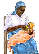 HIV - Cup feeding formula to an infant 0-24 mo - 05 - Tanzania