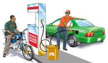 People - Taxi at gas station - 00A - Nigeria