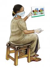 Counseling - Breastfeeding counseling - health worker - 02 - COVID
