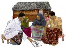 Counseling - Hand washing guidance - 02 - Kenya Dadaab