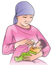 Cup Feeding - Grandmother cup feeding 0-24mo - 03 - Kyrgyz Republic