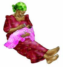 Cup Feeding - Cup feeding 0-6 mo 0-6 mo - 05B - Nigeria