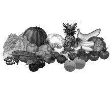 Food - Fruits and Vegetables - 00T - Non-country specific