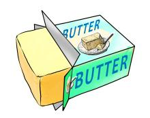 Food - Butter - 00C - Non-country specific