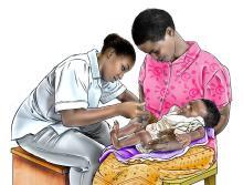Child Health Care - Immunization 9-12mo - 01B - Rwanda