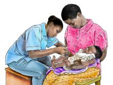Child Health Care - Immunization 6-9mo - 01C - Rwanda