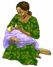 Breastfeeding - Exclusive breastfeeding 0-6 mo - 01B - Non-country specific