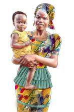 People - Mother and Baby 12-24 mo - 00 - Senegal