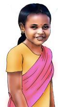 People - Young girl - 00 - India