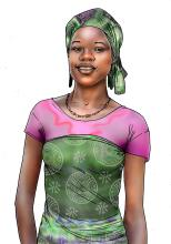 People - Young woman - 00 - Niger