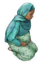 Maternal health - When to visit the health clinic - pregnancy - 03 - Kenya Dadaab