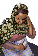 Maternal health - When to visit the health clinic - pregnancy - 06 - Kenya Dadaab