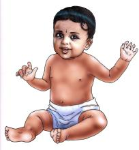 People - Healthy baby - 00 - India