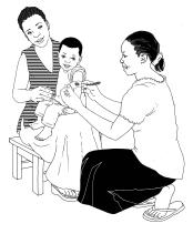 Baby Health Care - Measuring a child's arm - 00 - Non-country specific