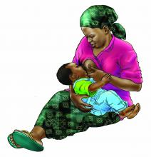 Breastfeeding - Breastfeeding 9-12mo 9-12 mo - 01B - Non-country specific