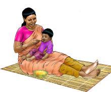 Complementary feeding - Complementary Feeding 6-9 months - 04 - India