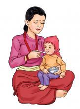 Complementary feeding - Complementary feeding at 6-9 months 6-9 months - 04 - Nepal