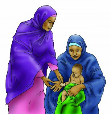 Sick baby health care - Signs of anemia for the baby 6-9 mo - 00 - Nigeria