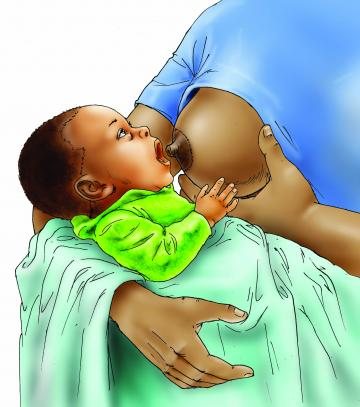 Breastfeeding - Breastfeeding pre-attachment 0-6 mo - 05D - Nigeria