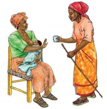 Breastfeeding - No water 0-6 mo - 01 - Niger