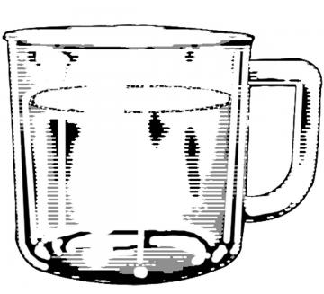 Objects - Full cup - 01A - Non-country specific