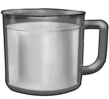 Objects - Cup of milk - 01B - Non-country specific