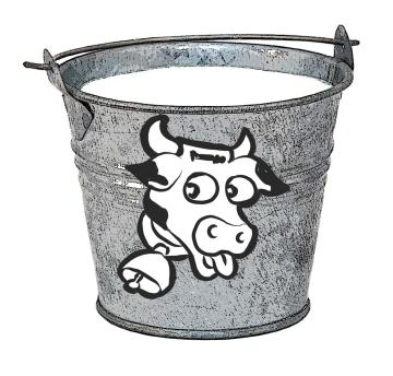 Objects - Pail of milk - 01 - Non-country specific