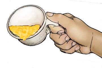 Objects - Cup with good porridge - 05 - Sierra Leone
