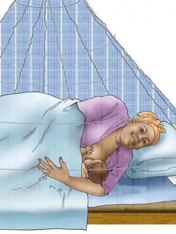 Breastfeeding - Breastfeeding positions - Side Lying 0-24 mo - 00 - Unknown