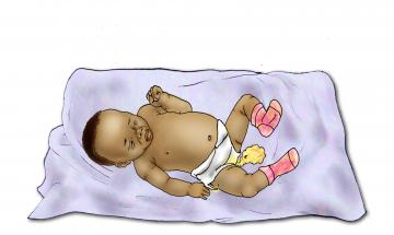 Sick Baby Health Care - Signs of sick baby- diarrhea 0-6 mo - 02 - Niger